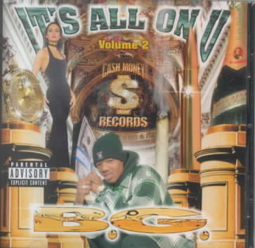 ITS ALL ON U VOL 02 BY B.G. (CD)